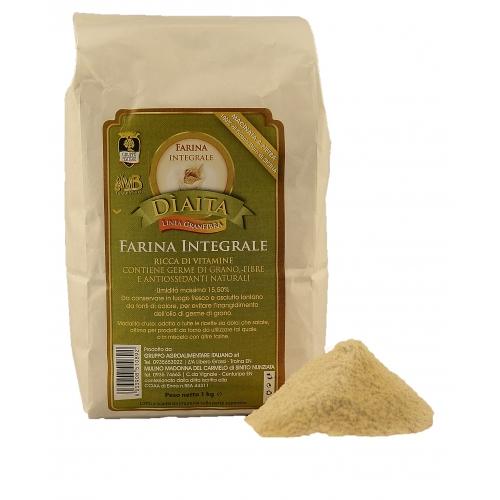 Dìaita Farina Integrale di grano duro di siciliano