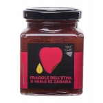 Confettura di Fragole dell'Etna e miele di zagara - Terra Siciliae
