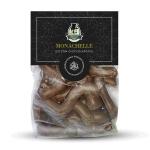 Biscotti siciliani a Esse ricoperte di Cioccolato - Monachelle - Principi di Salina