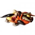 Pesci e molluschi di marzapane da 1 kg