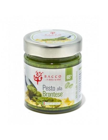 Pesto di pistacchio alla Brontese 65% con olio di semi 190 gr