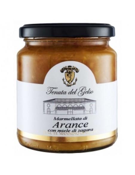 Marmellata di Arance con miele di zagara 350 gr