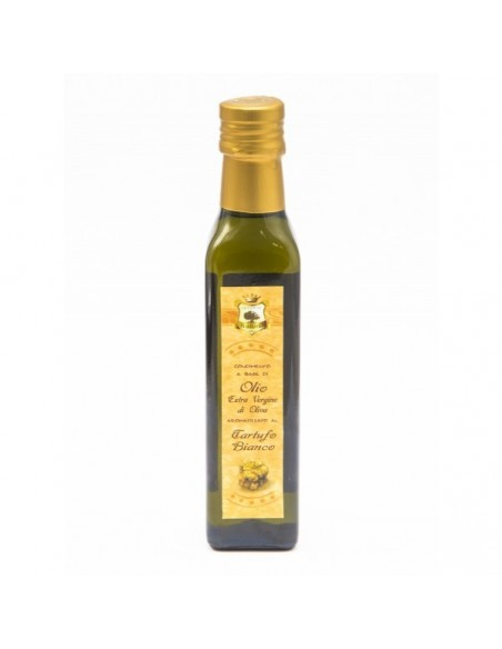 Olio extravergine d'oliva al tartufo bianco 25 cl