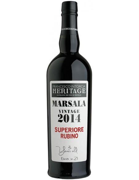 Rubino Superiore Marsala Vintage 2014 Heritage 18% 75 cl