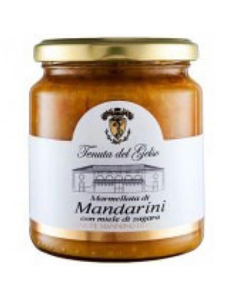 Marmellata di mandarini con miele di zagara 350 gr
