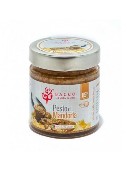 Pesto di mandorla 65% con olio extravergine d'oliva 190 gr