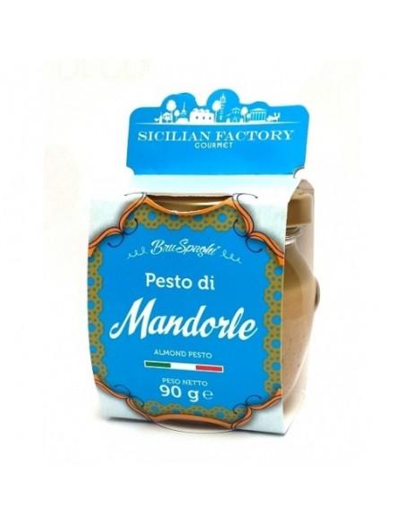 Bruspaghi Pesto di Mandorle SENZA GLUTINE Sicilian Factory 90 gr