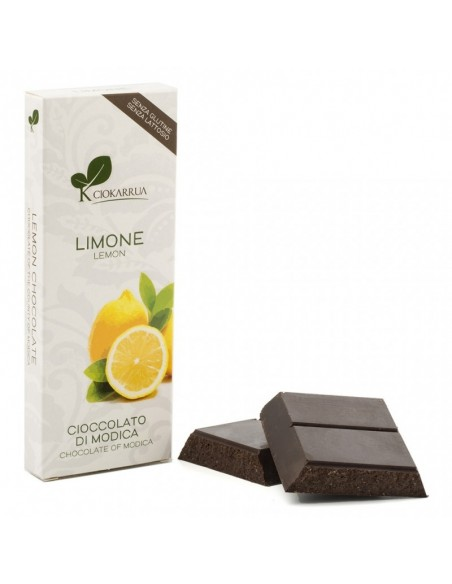 Cioccolato di Modica al limone 100 gr