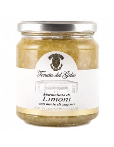 Marmellata di limoni con miele di zagara 350 gr