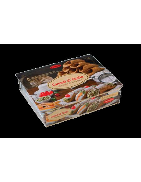 Cartone completo Cannoli Grandi conf. 10x8 pz
