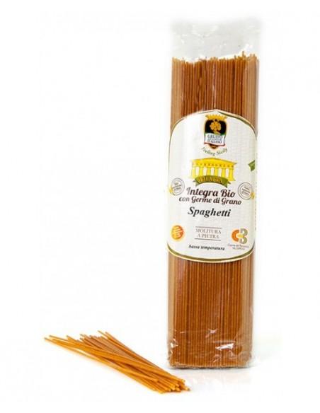 Spaghetti integrali Bio con germe di grano Gai 500 gr