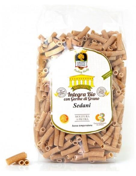 Sedani rigati integrali Bio con germe di grano Gai 500 gr