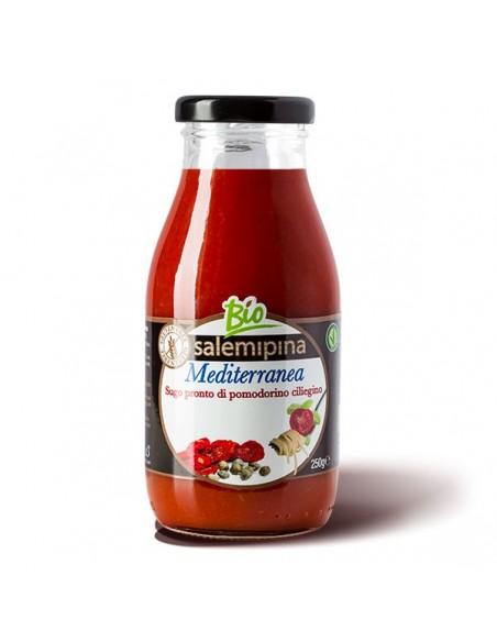Sugo pronto di ciliegino alla mediterranea 250 gr
