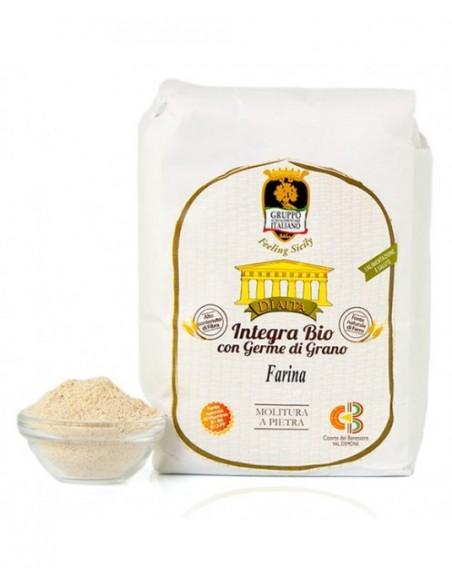 Diaita Semola integra Bio con germe di grano 1 Kg