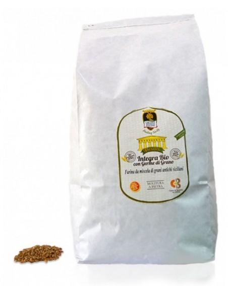 Semola integra Bio con germe di grano 5 Kg