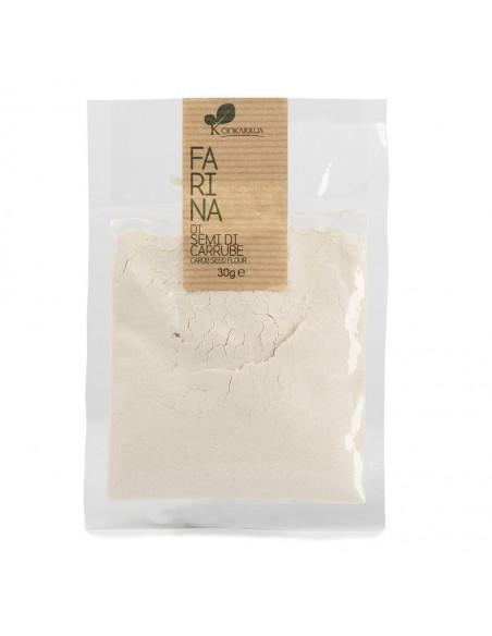 Farina semi di carrube busta 30 gr