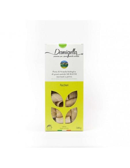 Pasta paccheri bianchi Damigella 500 gr