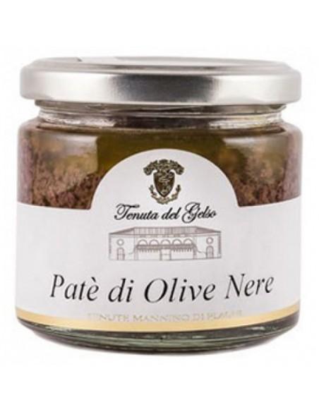 Patè di olive nere 180 gr