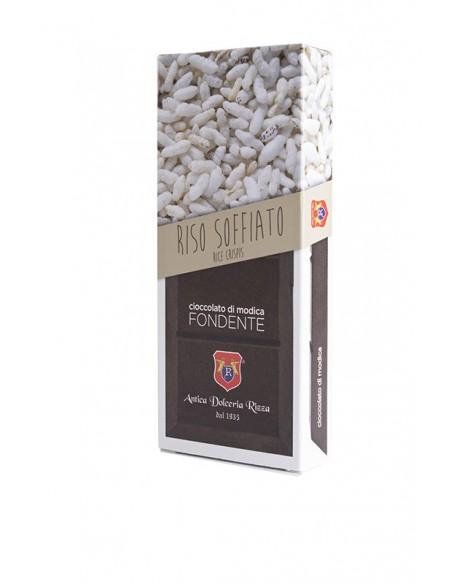 Rizza Cioccolato di Modica al riso soffiato 100 gr