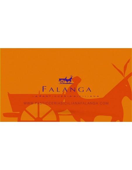 Scorzette di limone Falanga ricoperte di cioccolato fondente in busta 90 gr