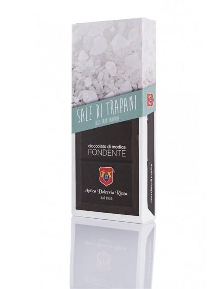 Rizza Cioccolato di Modica al Sale d'Infersa 100 gr