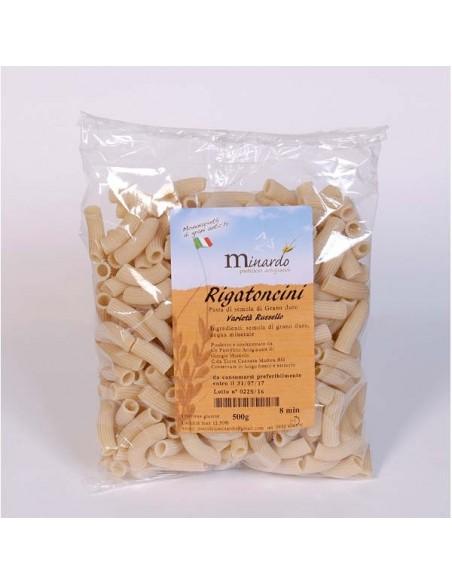Rigatoncini pasta di semola Russello Minardo 500 gr
