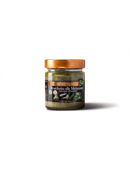 Bruschetta alle melanzane con olio Evo 190 gr