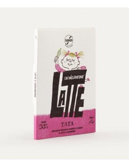 Tata cioccolato biologico al latte 53% 50gr
