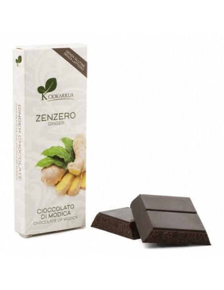 Cioccolato di Modica allo Zenzero 100 gr