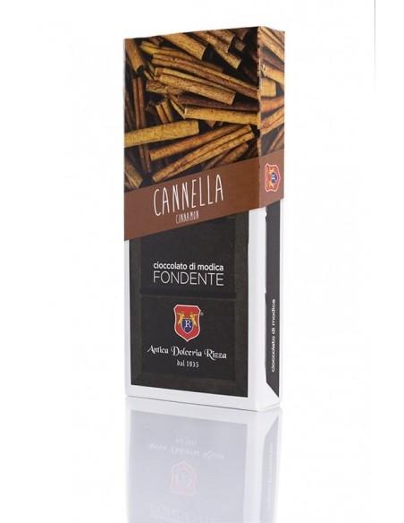 Rizza Cioccolato di Modica alla cannella 100 gr