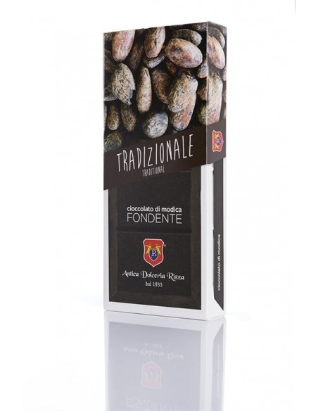 Rizza Cioccolato di Modica tradizionale fondente 100 gr