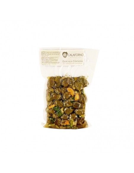 Olive Bio alla Contadina Calaforno Verdi 300 gr