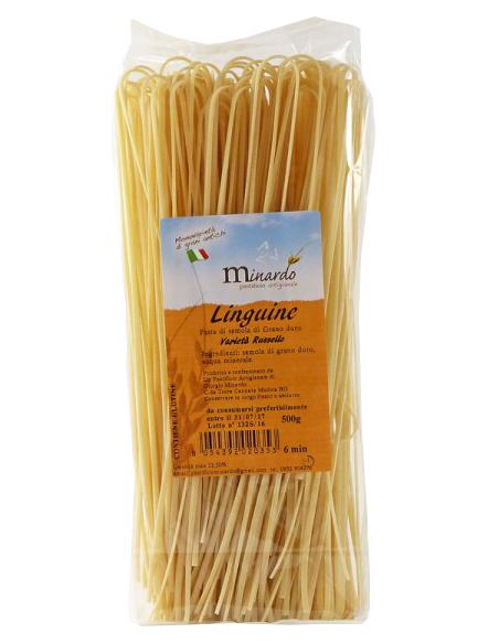 Linguine pasta di semola Russello Minardo 500 gr