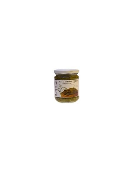 Pesto artigianale di finocchietto selvativo d'Alfredo 100 gr
