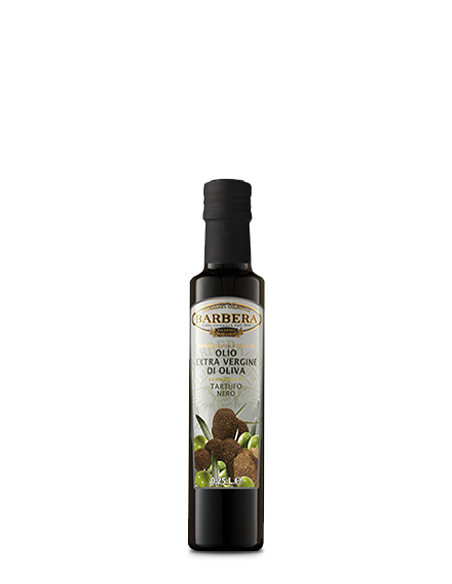 Olio Extravergine di oliva al Tartufo Nero 25 cl