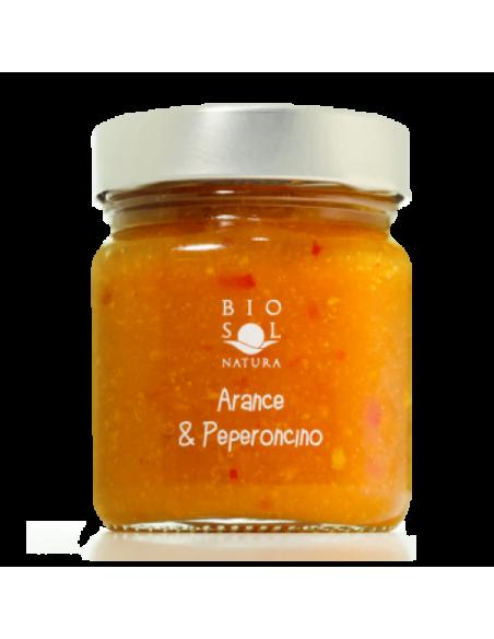 Marmellata arance e peperoncino biologica 250 gr