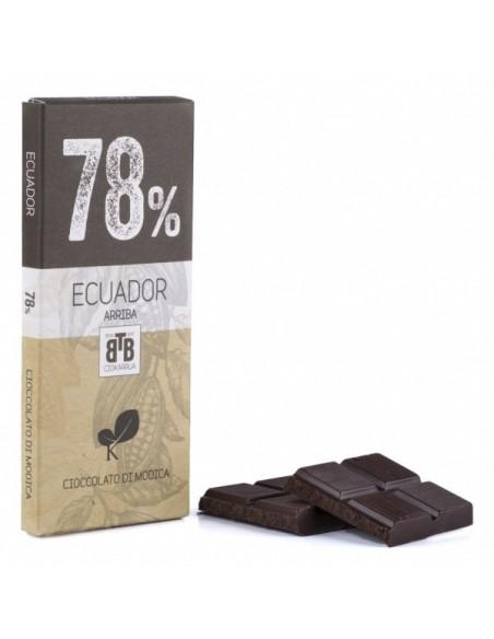 Ecuador 78% Cioccolato di Modica 50 gr