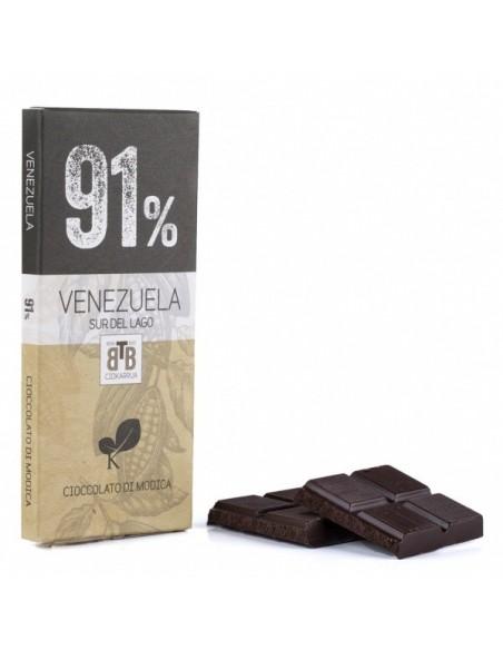 Venezuela 91% Cioccolato di Modica 50 gr