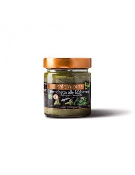 Bruschetta alle melanzane Max con olio Evo 1 Kg