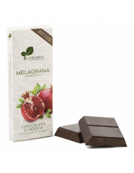 Cioccolato di Modica melagrana 50% 100 gr