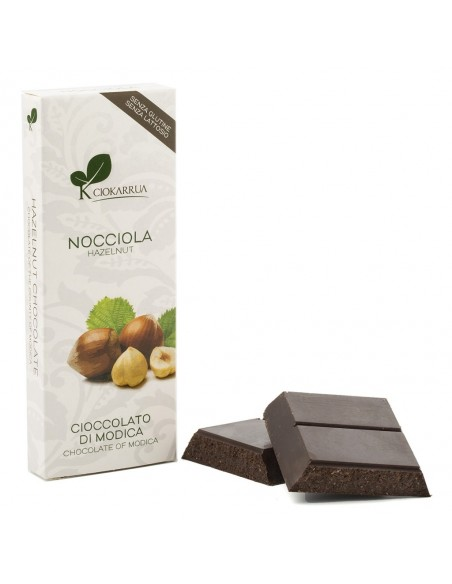 Cioccolato di Modica Nocciola 50% 100 gr
