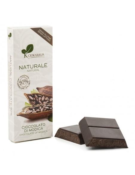 Cioccolato di Modica 90% 100 gr