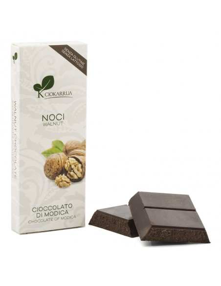 Cioccolato di Modica Noci 100 gr