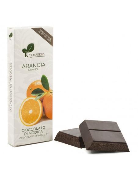 Cioccolato di Modica Arancia 100 gr