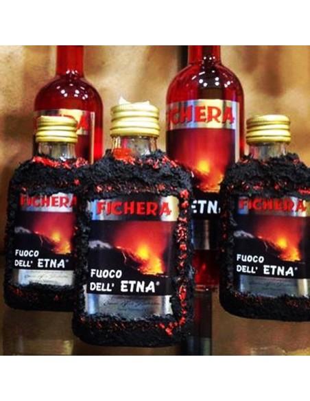 Liquore Fuoco dell'Etna con lava 50% 200 ml