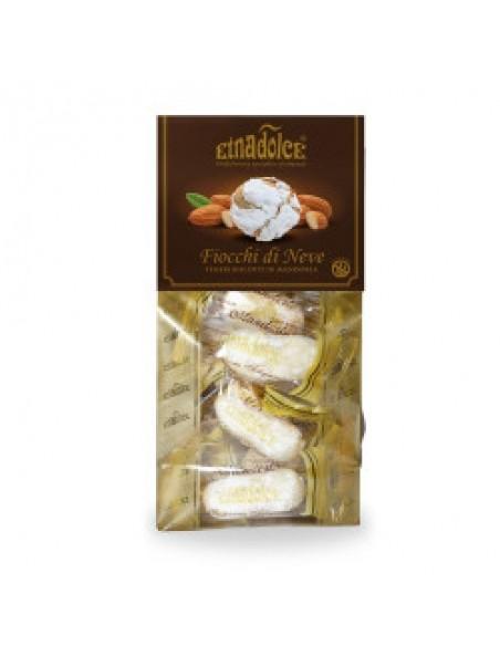 Fiocchi di neve biscotti di mandorla 200 gr
