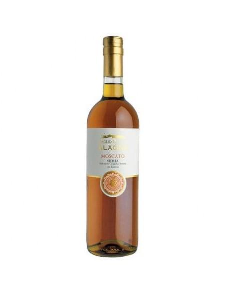 Moscato dolce Sicilia IGP vino liquoroso Alagna 75 cl 16,5%