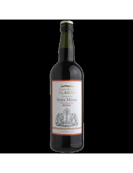 Vino per la Santa Messa liquoroso Rosso Alagna 75 cl 16%