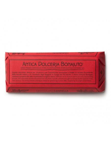 Cioccolato Bonajuto alla cannella 100 gr