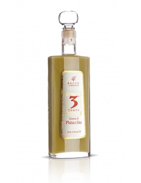 3° Tempo liquore cremoso di pistacchio 17% 50 cl